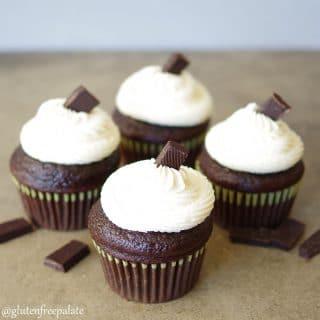 Gluten-Free Vegan Chocolate Cupcakes