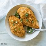 This Gluten-Free Baked Oregano Chicken is an easy weeknight dinner. It's tender, full of flavor, and a healthy meal option for those who love simple chicken dishes.