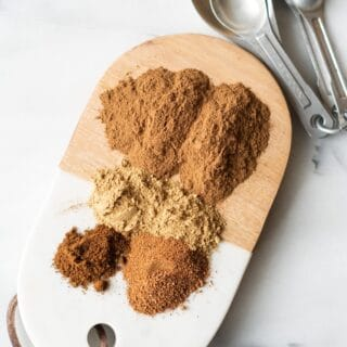 ingredients in pumpkin pie spice