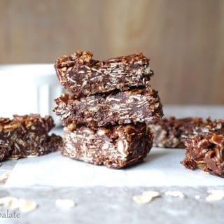 Gluten-Free Chocolate Coconut Oat Squares