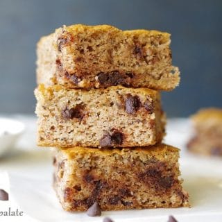 Grain-Free Banana Everything Bars