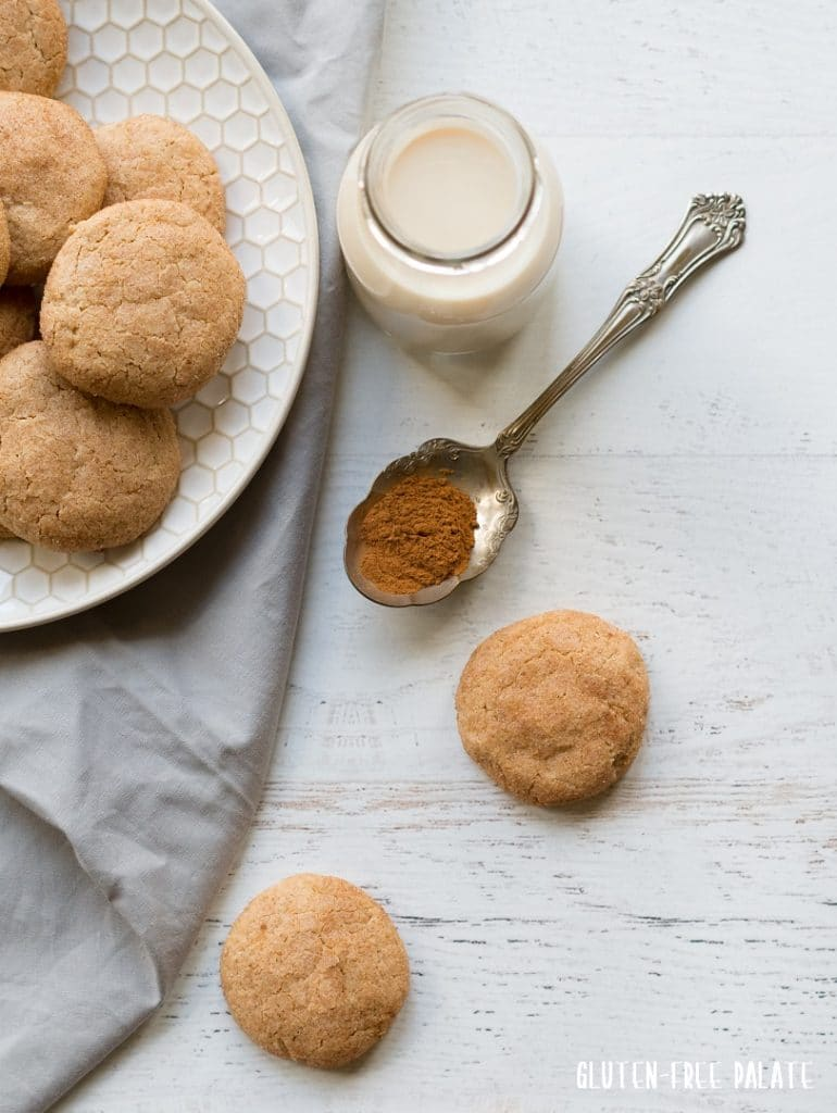 Get your cookie groove on with these gluten-free, dairy-free, grain-free snickerdoodles. Chewy, soft, and incredibly satisfying - you won't want to share.