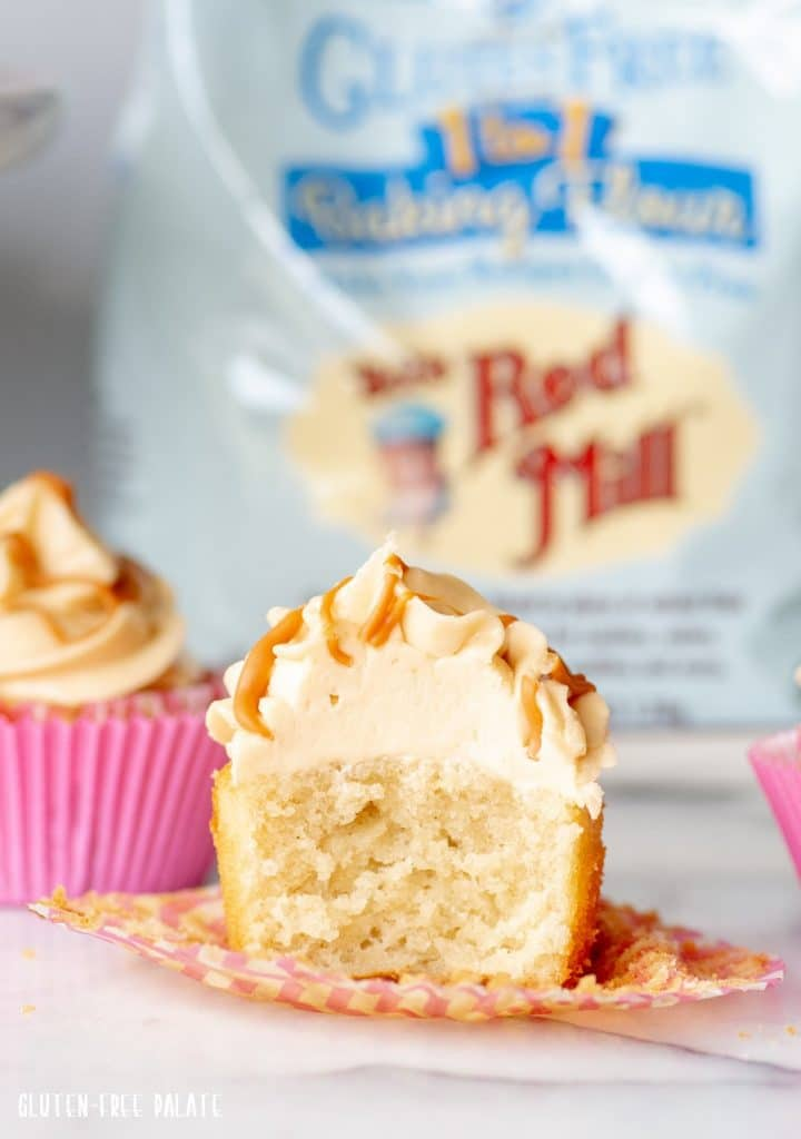 Gluten-Free Butterscotch Cupcakes that are rich, tender, and perfect for anyone who loves caramel or butterscotch.