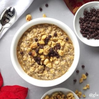 Gluten-Free Gingerbread Overnight Oats