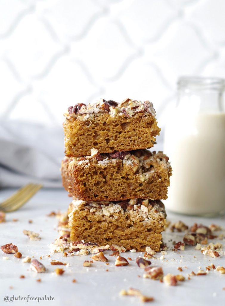 This tender, flavorful, Gluten-Free Gingerbread Coffee Cake will warm you from the inside out.