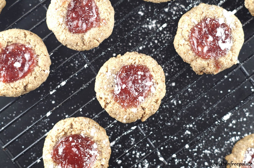 Enjoy these gluten-free, grain-free, dairy-free strawberry thumbprint cookies any time of the year. Who knew a thumbprint could be this good for you.