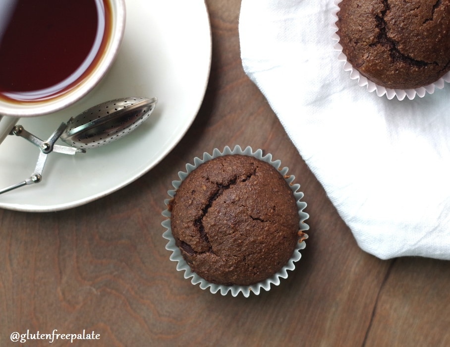 These Gluten-Free Double Chocolate Muffins are scrumptious. They are also dairy-free, grain-free, and refined sugar-free making them Paleo friendly. Enjoy!