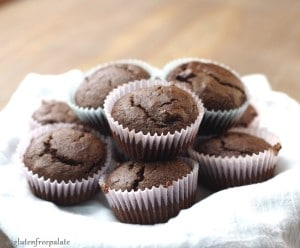 These Double Chocolate Paleo Muffins by Gluten-Free Palate are scrumptious. They are free of dairy, gluten, grains, and refined sugars. Enjoy!