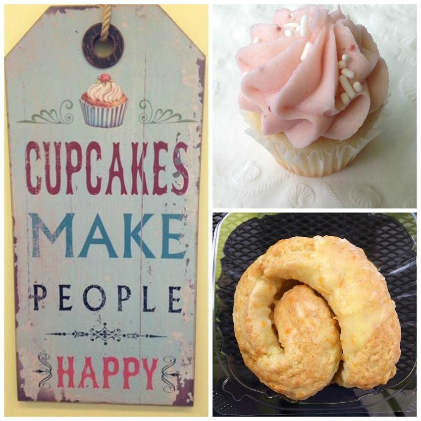 Sweet Cake Bake Shop Collage