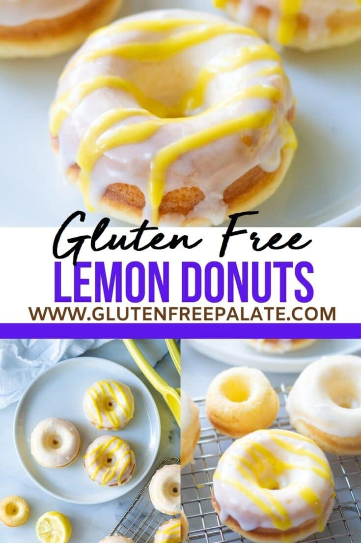 gluten free donuts collage