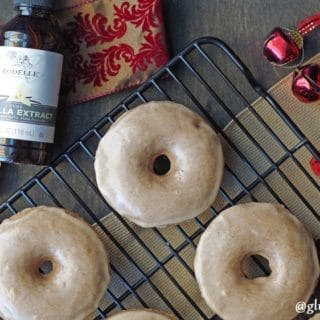 Celebrate this holiday season (or any season) with fresh baked Gluten-Free Chai Donuts. The subtle layers of sugars and spices are a perfect match for any one who loves chai.