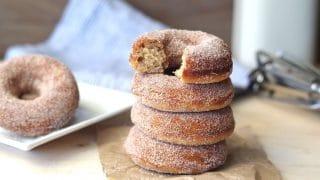 Gluten-Free Cinnamon Sugar Donuts