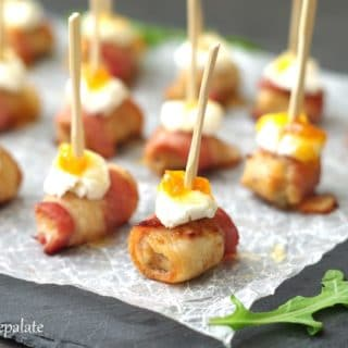 Who knew than an appetizer could be this simple, yet so sophisticated. These Spicy Sausage and Bacon Appetizers are loaded with an amazing combination of flavors that will please anyone in the room.