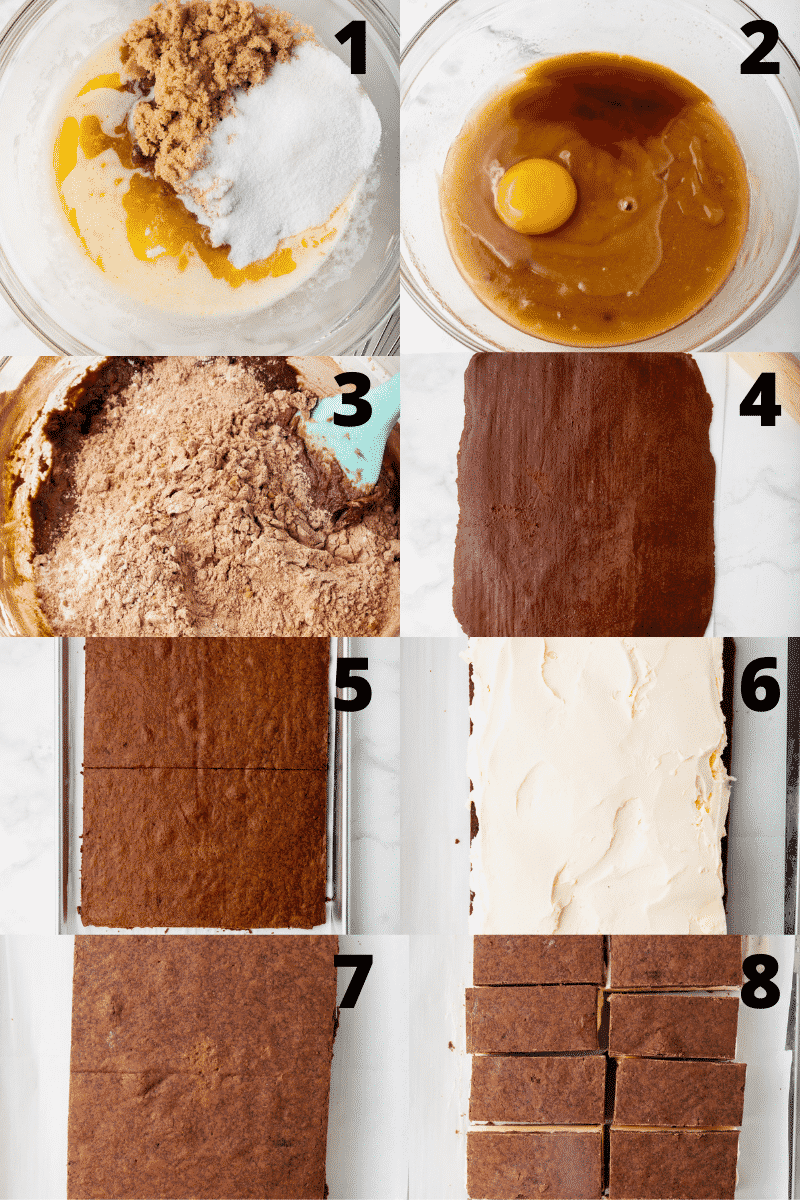 a collage of 8 photos showing how to make gluten free ice cream sandwiches