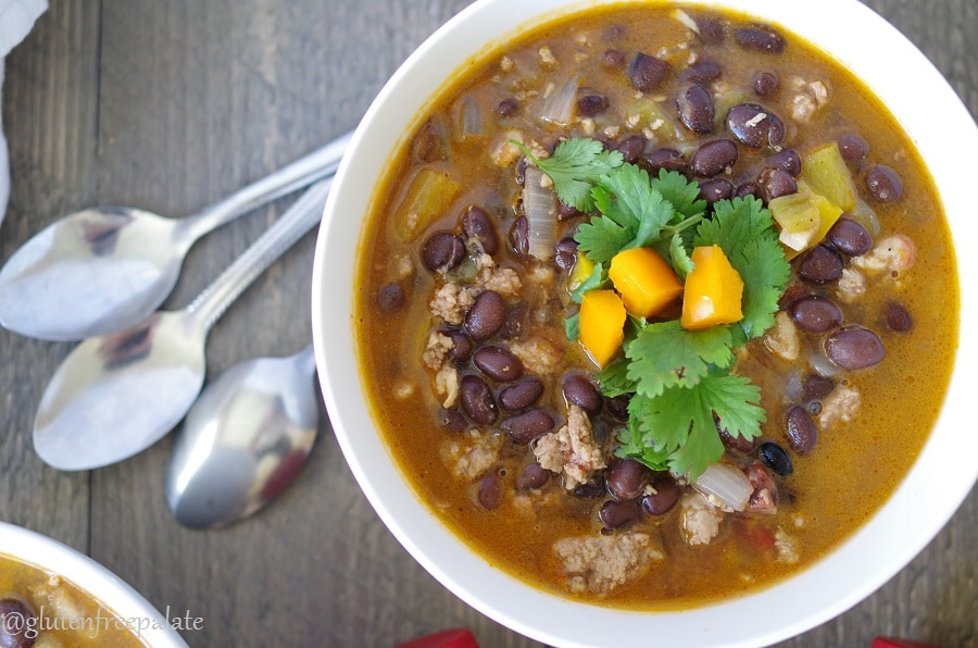 This Black Bean Soup has a homey feel and a kick that will keep you coming back for more. Turn up the heat in your kitchen with this savory, spicy soup.