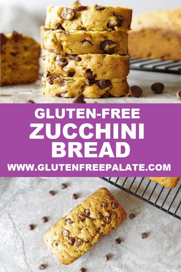 Tender and perfectly sweet, this gluten-free zucchini bread is easy to make and a great way to sneak veggies in.