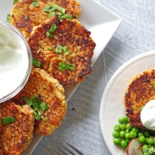 Gluten-Free Teriyaki Salmon Cakes
