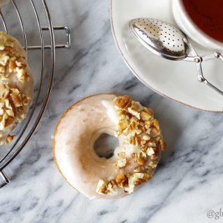 Gluten-Free Dairy-Free Maple Donuts
