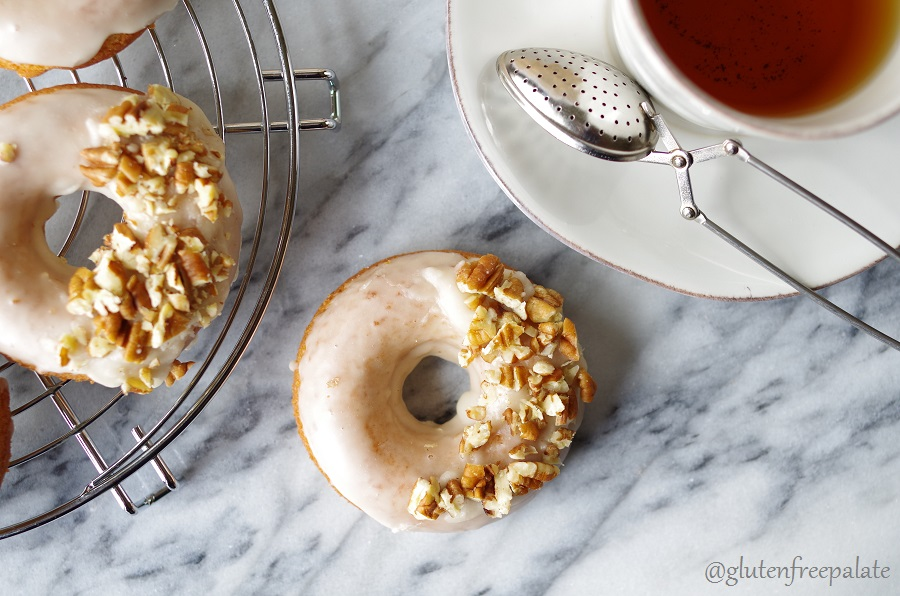 Made from scratch and fresh out of the oven, these Gluten-Free Dairy-Free Maple Donuts will warm your heart and your belly.