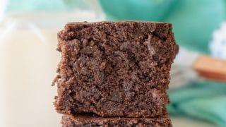 Gluten-Free Dark Chocolate Banana Brownies