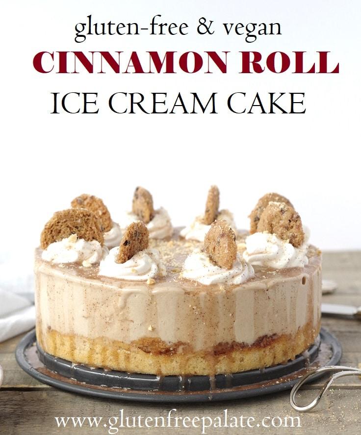 Gluten Free Ice Cream Cake Roll