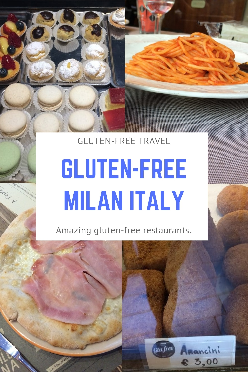 Gluten-Free Milan! My family of four visited Milan, Italy and we had a fabulous time and ate incredible gluten-free food at some of the best gluten-free Milan restaurants.