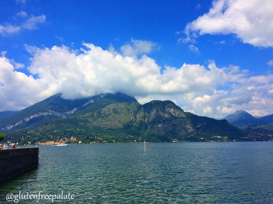 Clear blue water, majestic scenery, and a gentle breeze - Bellagio on Lake Como in Italy was full of narrow roads, lush greenery, and gluten-free pasta.
