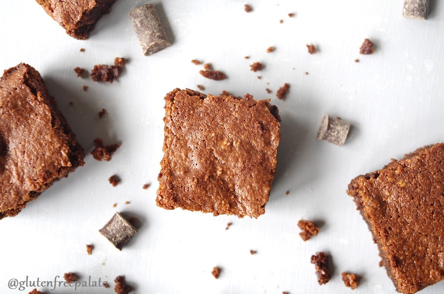 Super rich, fudgy, and packed with incredible ingredients, these Grain-Free Hazelnut Brownies are a brownie game-changer. You're going to fall in love them and swoon over how simple they are to make.