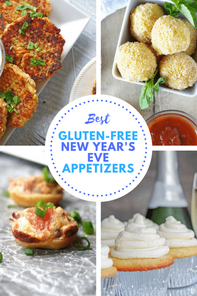 Best Gluten-Free New Year's Eve Appetizers: From bites to savory hand held starters, we've got you covered with some of the most flavorful, yet simple gluten-free appetizers to help you ring in the New Year!