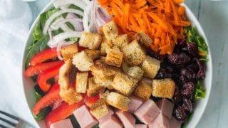 Gluten-Free Garlic Dill Croutons