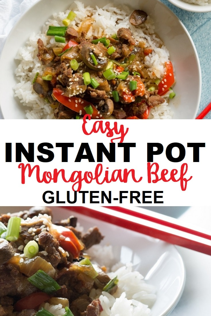 Instant Pot Mongolian Beef is a easy-to-make recipe that you can have on your table in less than 30 minutes.