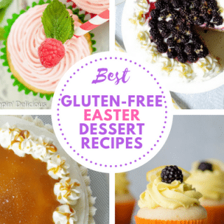Best Gluten-Free Easter Desserts: From Cakes, to cupcakes, we've got you covered with some of the most flavorful, yet simple gluten-free desserts to share with your friends and family this Easter Holiday.