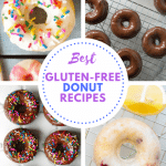 Best Gluten-Free Donuts: From chocolate to vanilla, chai flavored and more we've got you covered with some of the most flavorful, yet simple gluten-free donuts that can be enjoyed any day of the week.