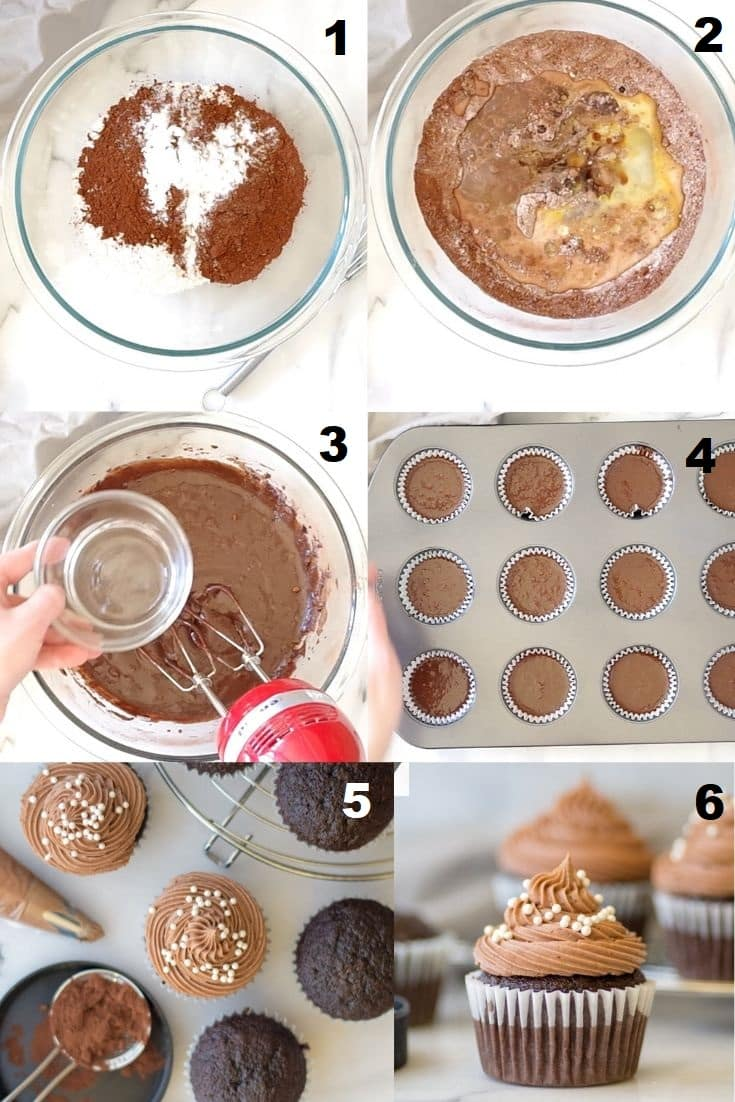 how to make gluten free chocolate cupcakes