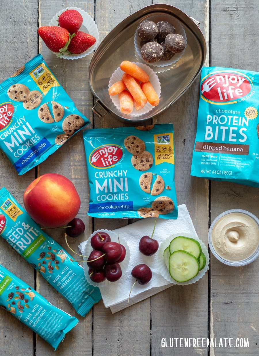 Gluten-Free Snacks for Back to School - looking for snack ideas for back-to-school? Here's a list of gluten-free snacks that we are starting the school year off with.