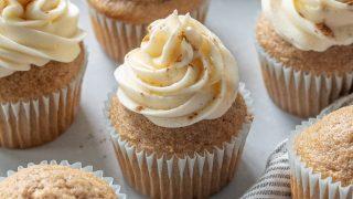 Gluten-Free Chai Cupcakes