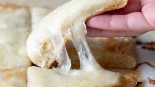 Gluten-Free Cheesy Breadsticks