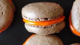 Gluten-Free Chocolate Macarons