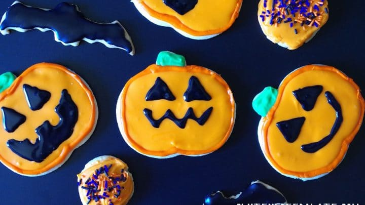 Gluten-Free Halloween Sugar Cookies