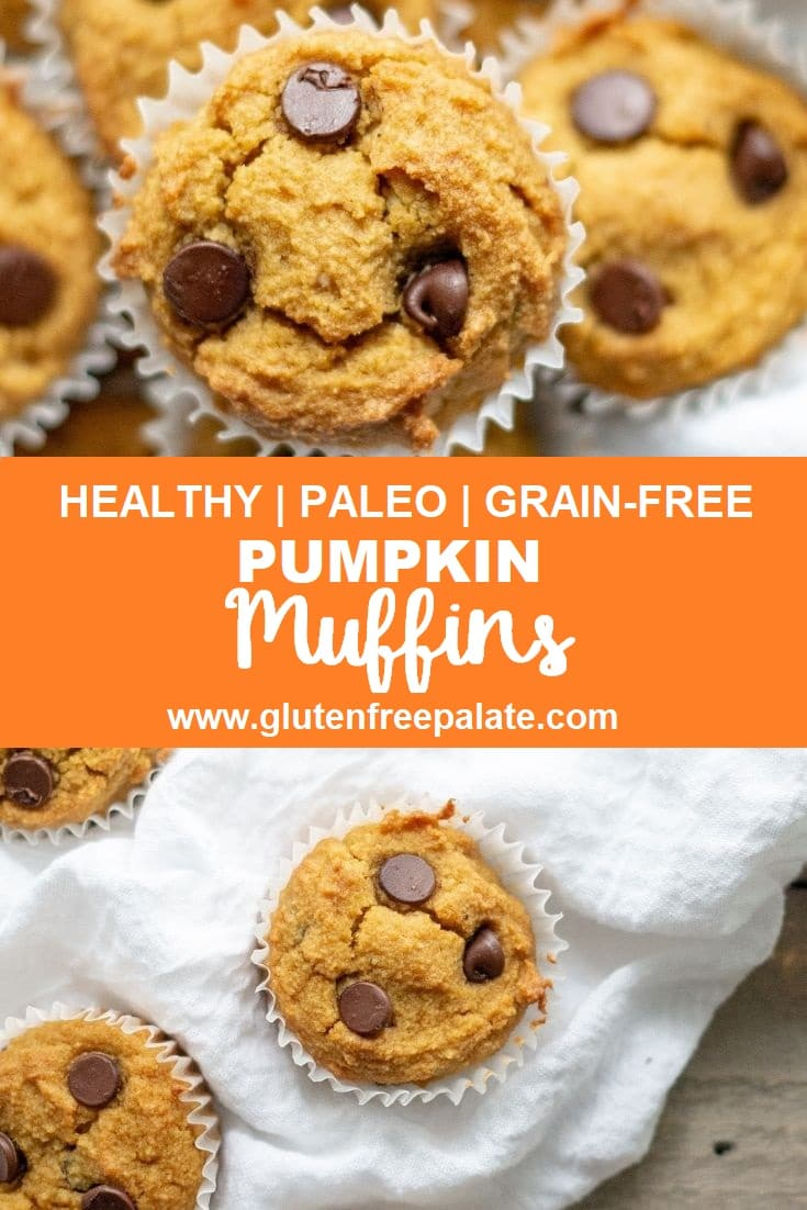 Paleo Pumpin Muffins in a basket.