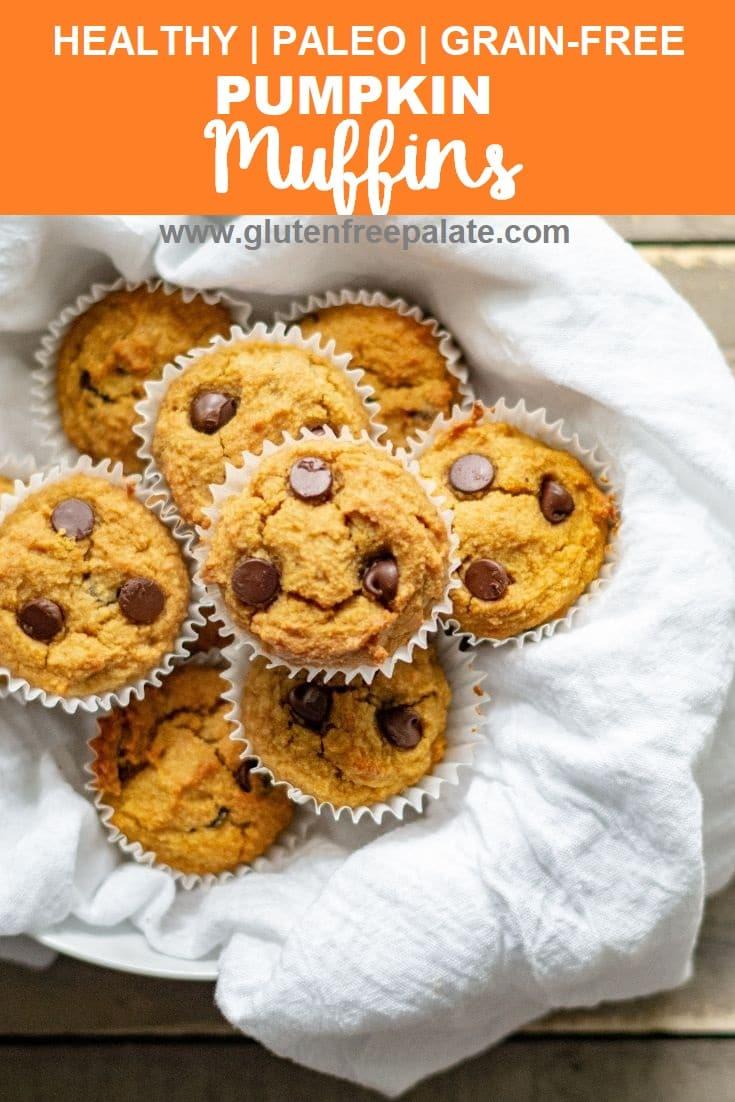Paleo Pumpin Muffins in a basket.
