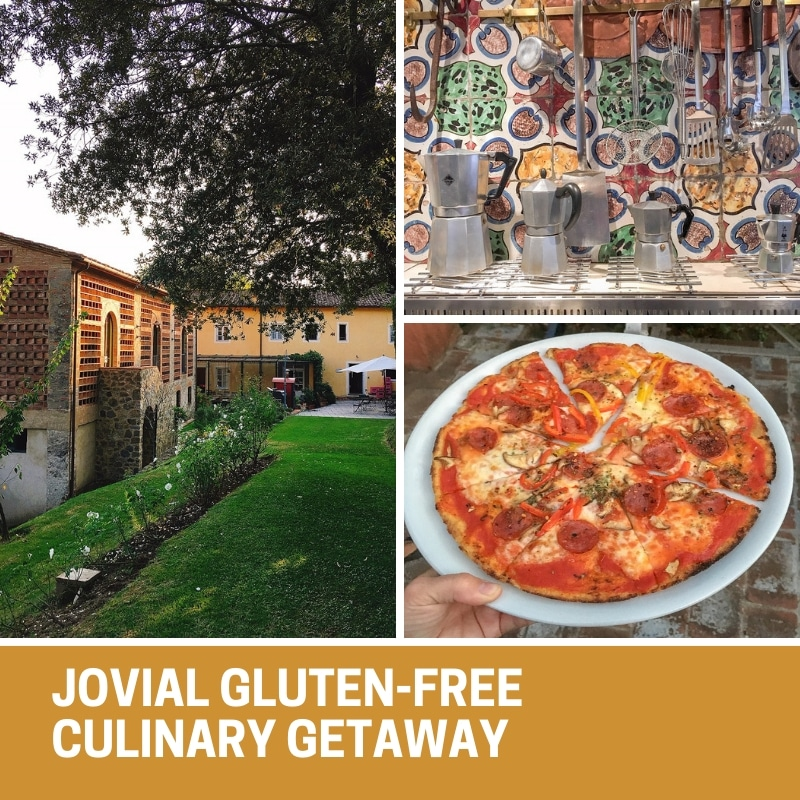 My husband and I attended a Gluten-Free Culinary Getaway organized and hosted by Jovial and it was an incredible experience that we will never forget!