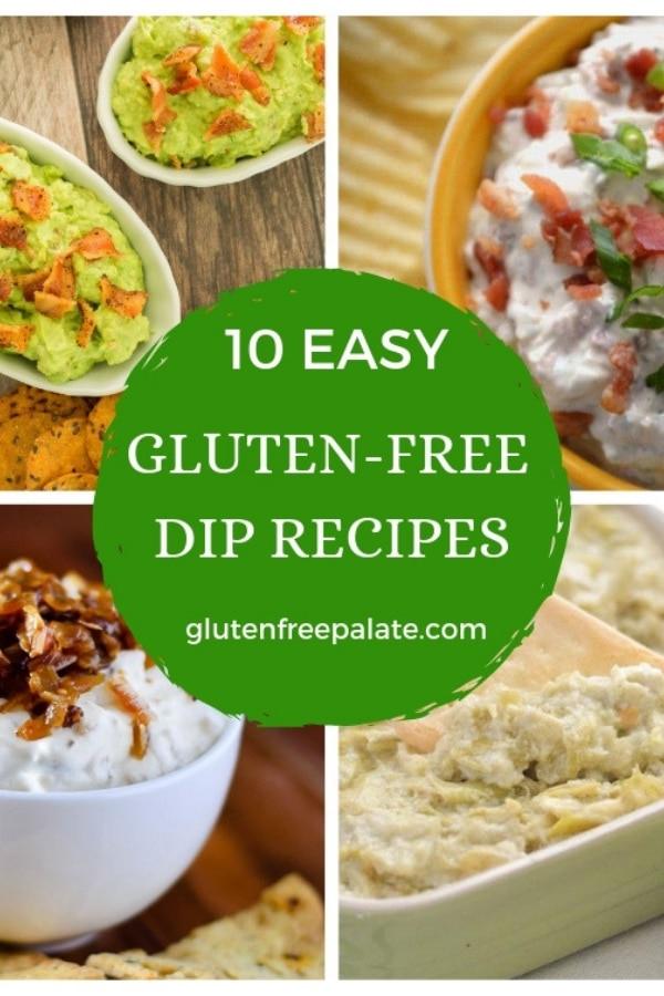 Give me all the gluten-free dip! 10 recipes for gluten-free dips that will have your mouth watering.