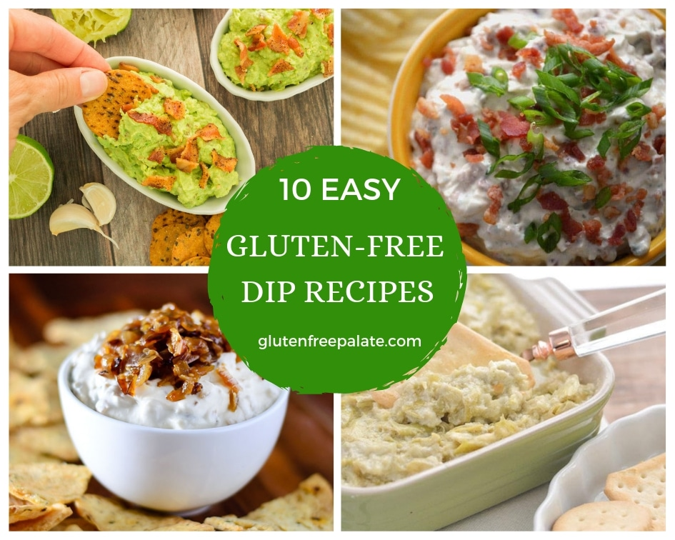 A collection of some of the best gluten-free dip recipes. From sweet to savory, there is a gluten-free dip recipe for all types of flavor preferences.