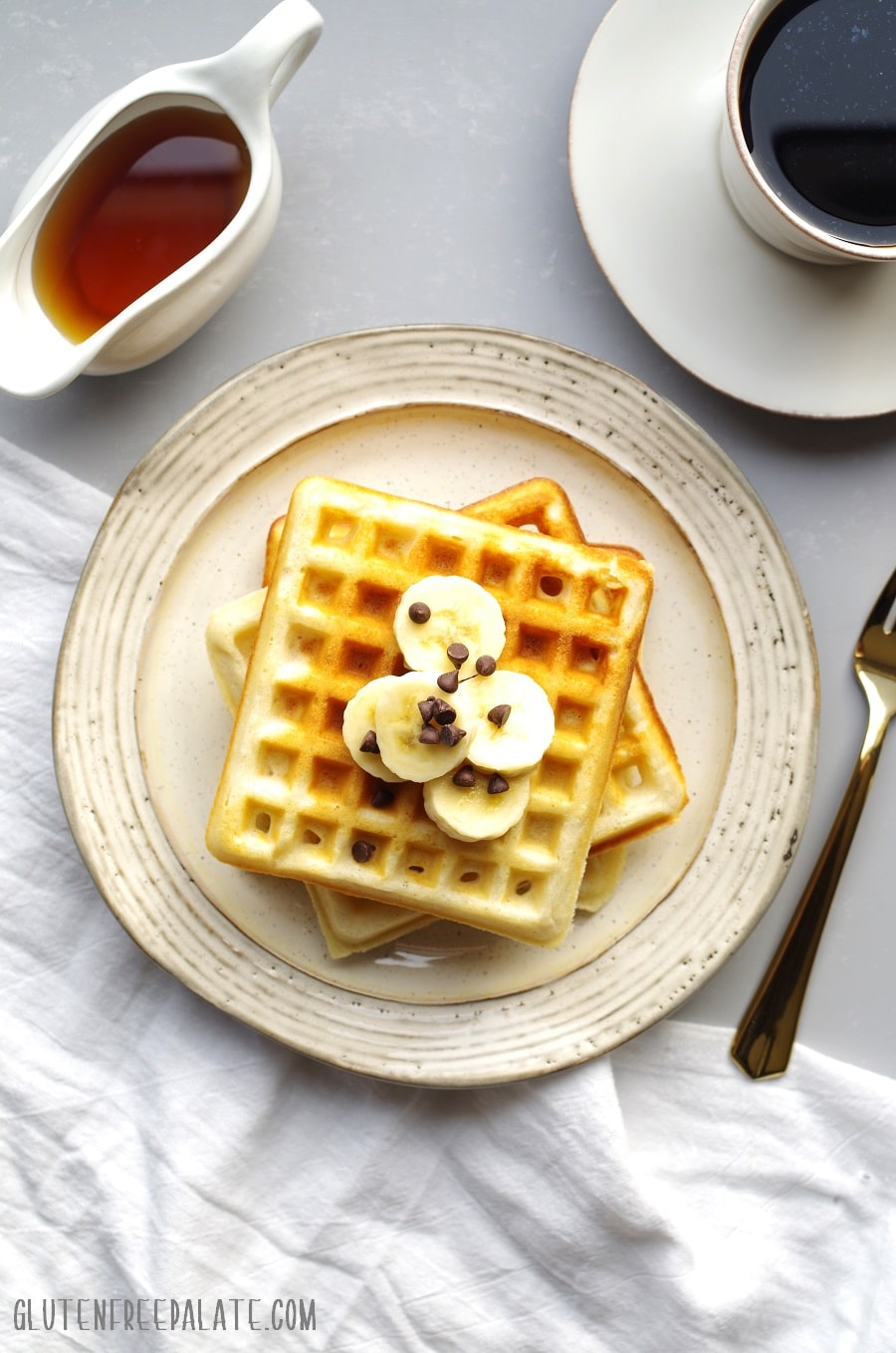 Gluten-Free Waffle Mix that is simple to make, a tried and true gluten-free waffle recipe, and can be made right away, or stored for future use.