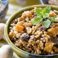 Winter One-Pot Lentils and Rice Recipe (for Pressure Cookers!)