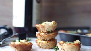 Gluten-Free Spinach and Artichoke Dip Bites