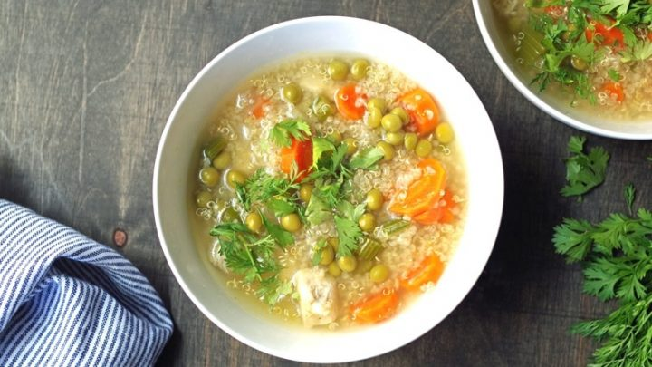 Gluten-Free Quinoa Soup
