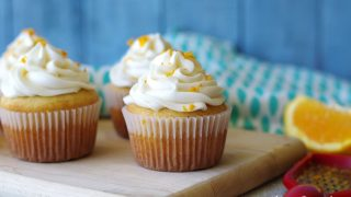 Gluten-Free Orange Cupcakes