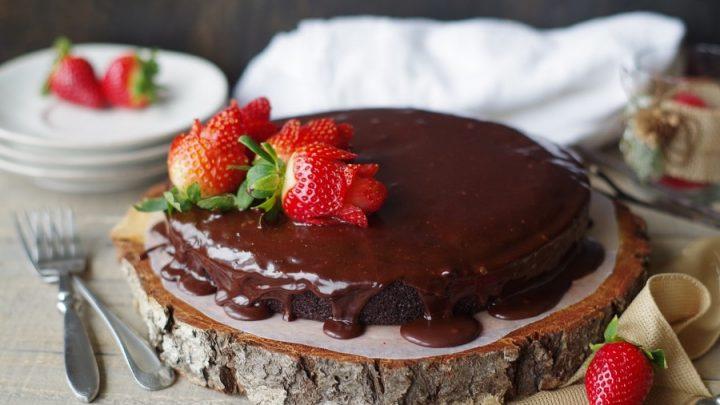 Gluten-Free Vegan Chocolate Ganache Cake